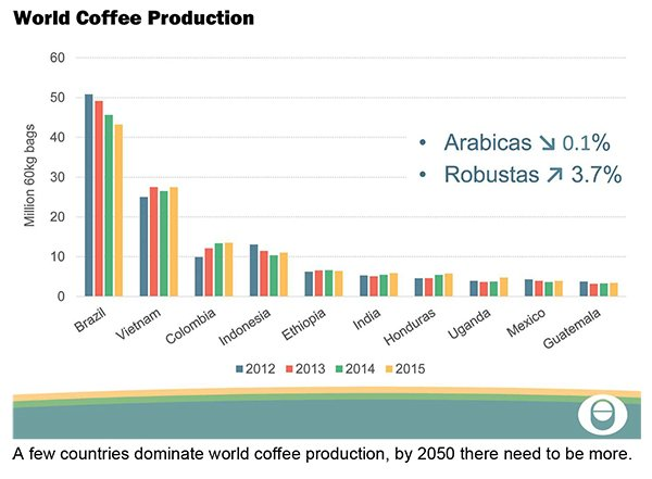 the competitive world of the coffee industry Starbucks faces growing rivals as coffee wars reach boiling point  the specialty coffee association of america estimates that the us coffee market is now worth between $30bn and $32bn dollars.