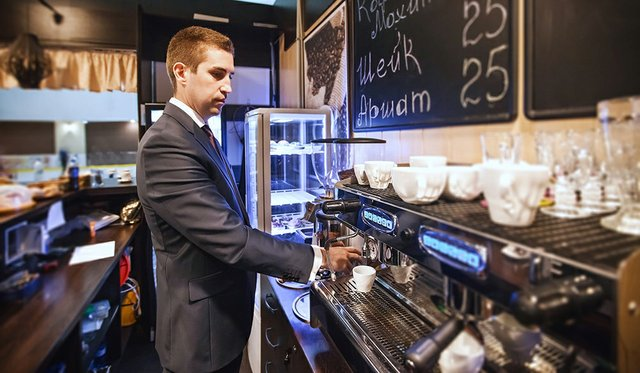 Ukraine Coffee Houses Feel the Heavy Impact of Crisis