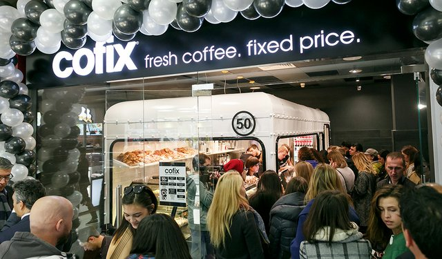 Cofix expands to Russia