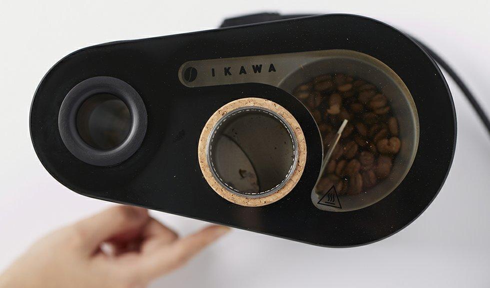Latest generation sample roaster from IKAWA, London