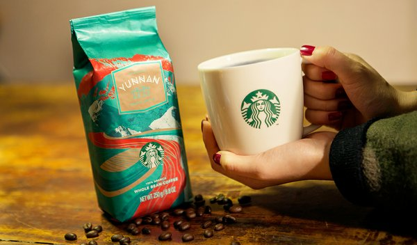 Starbucks Unwraps Single-Origin Yunnan Coffee