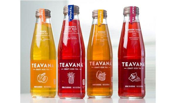 Teavana Bottled Teas