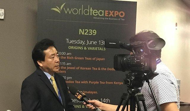Korean Tea on the World Stage