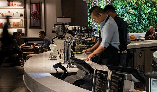 Peet's Opens in Shanghai