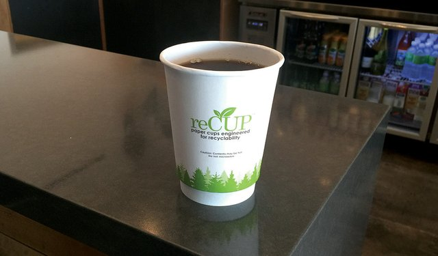 Paper Cups Recycled