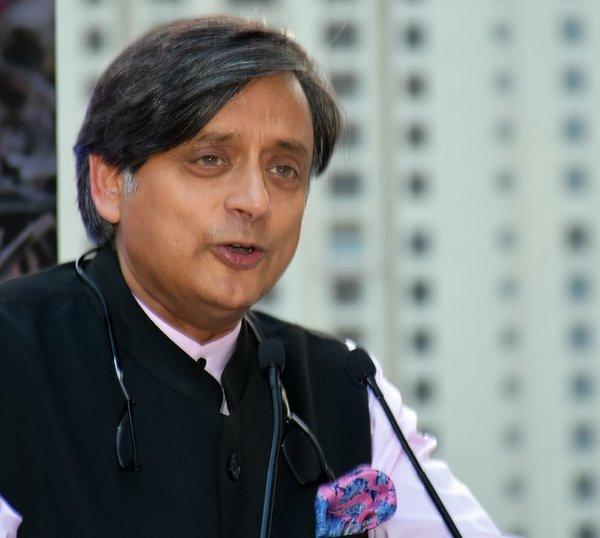 Dr. Shashi Tharoor, former UN diplomat