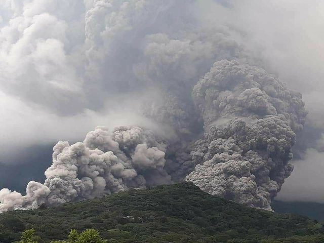 Volcanic Ash Covers Prime Guatemala Coffee Lands