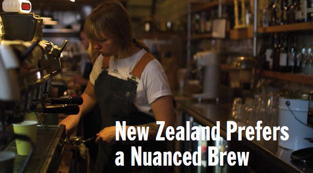 New Zealand Coffee