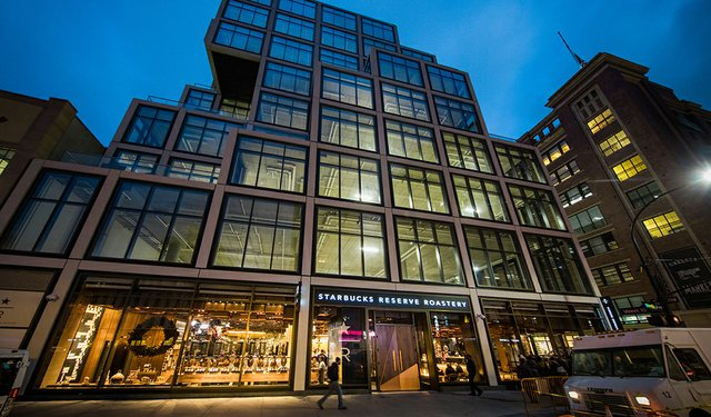 New Starbucks Roastery in NYC