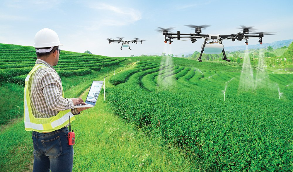 Drones Become Aerial Workhorses Of Tea Stir Coffee And