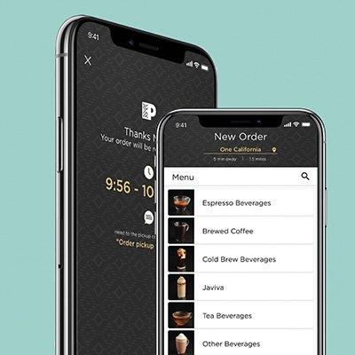 Peet's 'Order Ahead' App