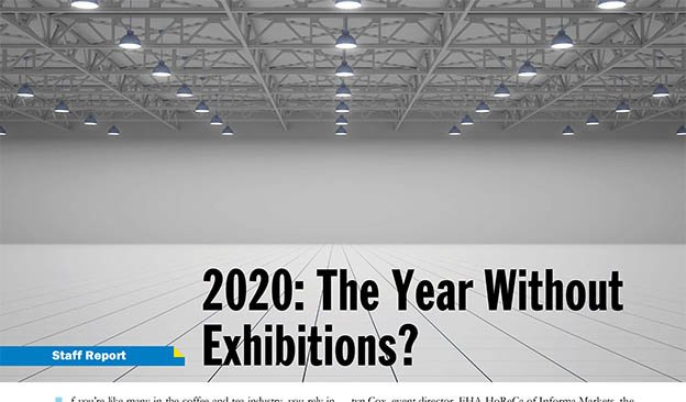 2020: The Year Without Exhibitions?