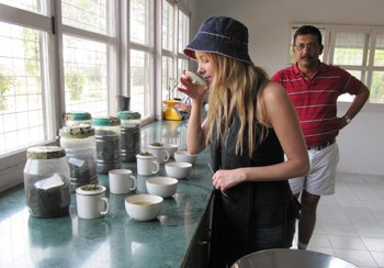 page-15i2_ART_GreenTea_Victoria Bisogno of Argentina's Club del Te and Charming Blends, tasting white teas in Assam.jpg